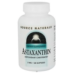 Source Naturals Astaxanthin antioxidant carotenoid 2 mg softgels - 120 ea