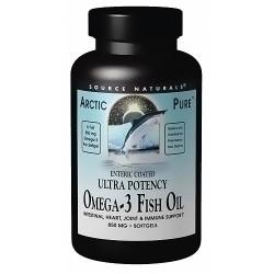 Source Naturals Ultra Potency Omega-3 Fish Oil 850 mg - 30 Softgels