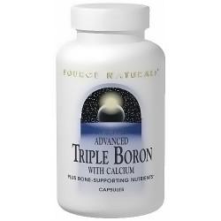 Source Naturals Advanced triple boron with calcium capsules - 240 ea