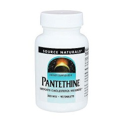 Source Naturals Pantethine 300 mg tablets - 90 ea