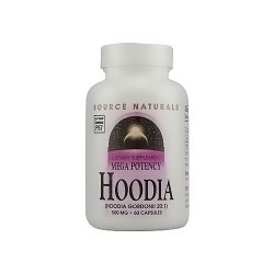 Source Naturals mega potency Hoodia 500 mg capsules - 60 ea