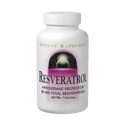 Source Naturals Resveratrol 40 mg Capsules  - 120 ea
