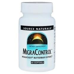 Source Naturals Migracontrol butterbur extract 50 mg softgels - 60 ea