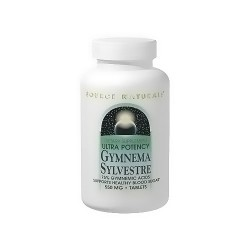 Source Naturals Ultra potency gymnema sylvestre 550 mg tablets - 60 ea