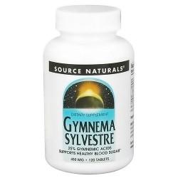 Source Naturals Gymnema sylvestre 450 mg tablets - 120 ea