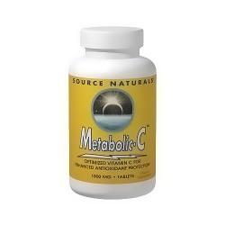Source Naturals Metabolic C 1000 mg tablets - 50 ea
