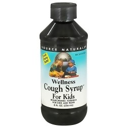 Source Naturals wellness Cough syrup for kids - 8 oz