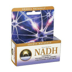 Source Naturals NADH 5 mg tablets - 90 ea