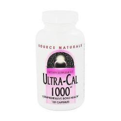 Source Naturals Ultra cal 1000 capsules - 120 ea
