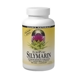 Europure Silymarin 200 mg vegetarian capsules - 60 ea