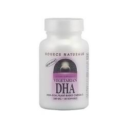 Source Naturals vegetarian DHA 200 mg softgels - 60 ea