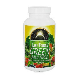 Life Force green multiple energy activator tablets - 90 ea