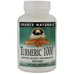 Source Naturals Turmeric 1000 - 60 Tablets