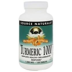 Source Naturals Turmeric 1000 1000 mg tablets - 120 ea