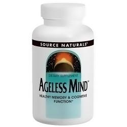 Source Naturals Ageless mind tablets - 30 ea