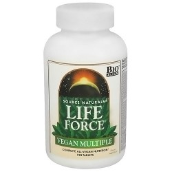Source Naturals Life Force Vegan Multiple Tablets with Iron - 120 ea