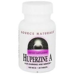 Source Naturals Huperzine A 100 mcg tablets - 60 ea