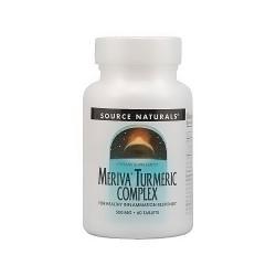 Source Naturals Turmeric with meriva 500 mg tablets - 60 ea