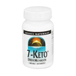 Source Naturals 7-Keto DHEA metabolite 100 mg tablets - 30 ea
