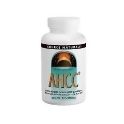 Source naturals AHCC 500 mg dietary supplement capsules - 60 ea