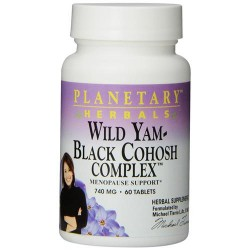 Planetary herbals wild yam black cohosh complex tablets  - 60 ea