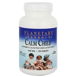 Plantary Herbals Calm Child, Supports Calm Focussed Attention - 150 Tablets