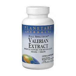 Planetary Herbals full spectrum valerian 650mg extract tablets - 60 ea