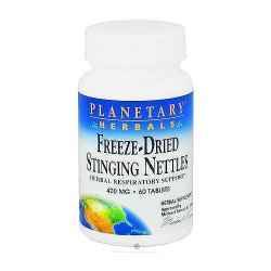 Planetary Herbals Freeze-Dried Stinging Nettles 420 mg Tablets - 60 ea