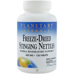Planetary Herbals Freeze-Dried Stinging Nettles Tablets - 120 ea