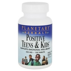 Planetary herbals positive teens and kids 435 mg tablets - 120 ea