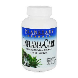 Planetary Herbals Inflama care 1165 mg tablets - 60 ea