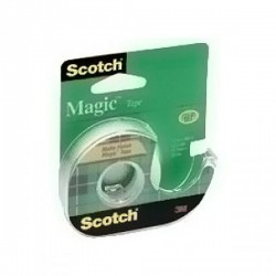 Scotch Magic Tape Display case, 1/2 in x 800 in - 12 Rolls