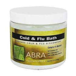 Abra Therapeutics Cold and Flu bath - 17 oz