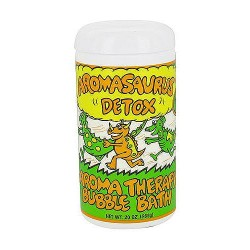 Abra Therapeutics Aromasaurus Detox bubble bath for Kids - 20 oz