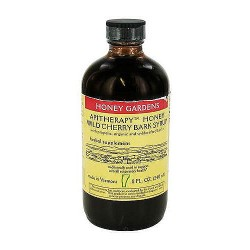 Honey Gardens Apiaries Honey, Wild Cherry Bark Syrup - 8 oz