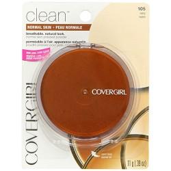 Covergirl clean pressed powder ivory - 2 ea
