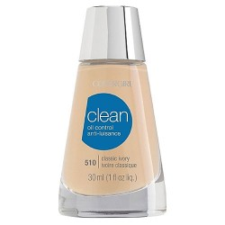 Covergirl clean oil control liquid makeup, classic ivory - 2 ea