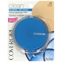 Covergirl clean oil control pressed powder, soft honey - 2 ea