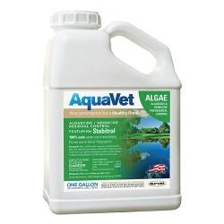 Durvet Aquavet D aquavet algae control with stabitrol - 1 gallon, 4 ea