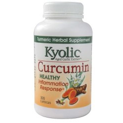 Kyolic curcumin healthy inflammation response capsules  -  100 Ea