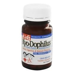 Kyolic Kids Kyo-Dophilus Chewable Tablets, Vanilla Flavor - 60 ea