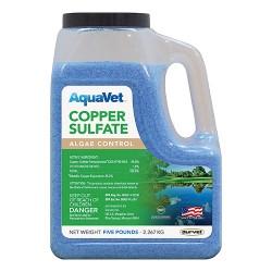 Durvet Aquavet D aquavet copper sulfate algae control - 5 pound, 6 ea