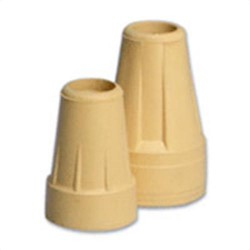 Apex-carex crutch tips tan, size: 7/8 inches, model no : a715-00 - 1 pair
