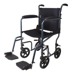 Carex transport chair  with 8 Inch Oversized Wheels - 1 ea