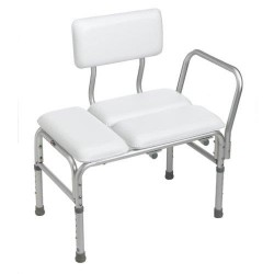 Carex deluxe padded transfer bench - 1 ea