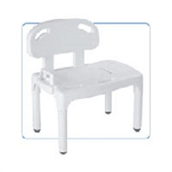 Apex-carex universal transfer bench, white color, model no : b170-00 - 1 ea