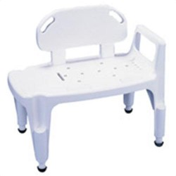 Apex-carex composite bathtub transfer bench - 1 ea