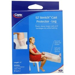 Carex health brands ez stretch cast protector - 1 ea