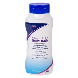 Carex rinse-free body bath with aloe, alcohol free - 16 oz