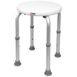 Carex health brands  compact round shower stool - 1 ea